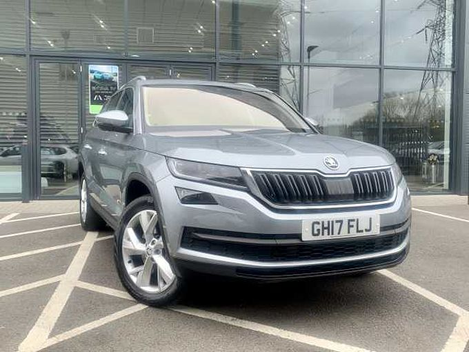 SKODA Kodiaq 2.0 TDI (190ps) 4X4 Edition 7 Seats DSG SUV